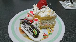 クリスマスケーキ12月25日