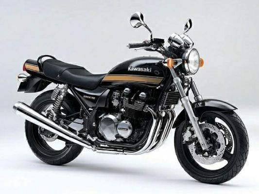 Kawasaki Zephyr 750 91 2