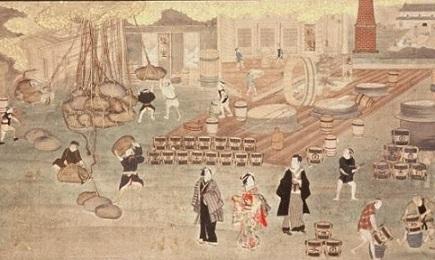 押絵扁額(野田醤油醸造之図) (3)