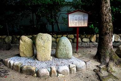 東灘区弓絃羽の森・弓絃羽神社1