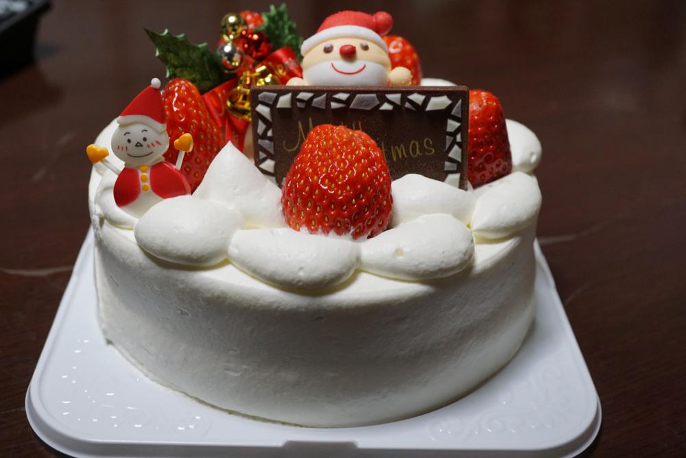 クリスマスケーキ20171224