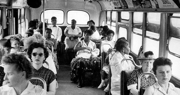 黒人差別  バス