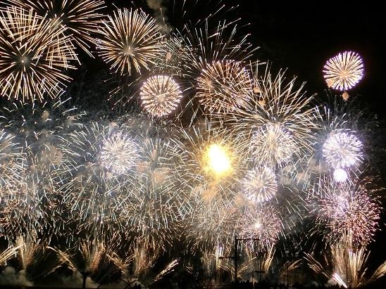 熱海の花火