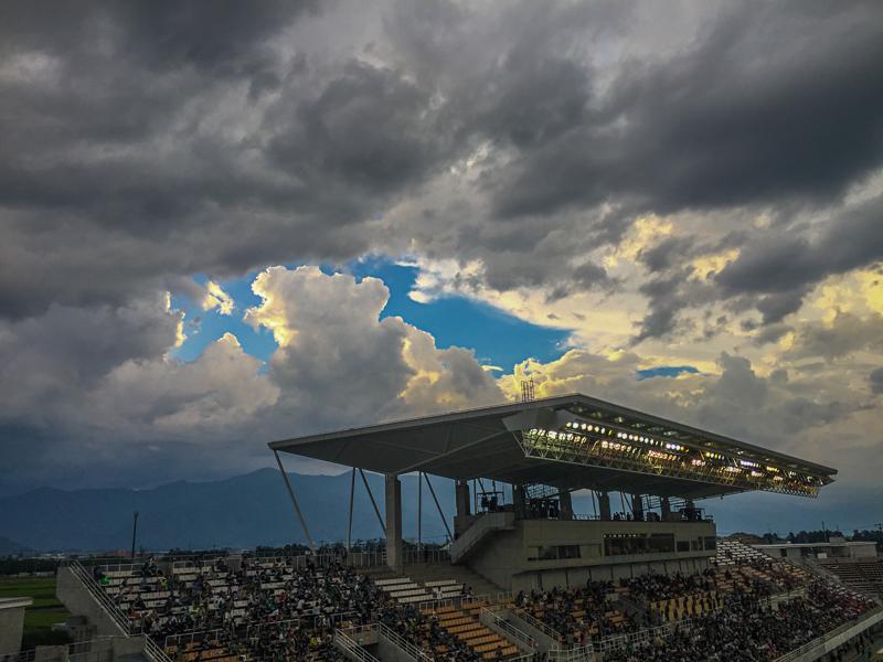 8月6日 AC長野パルセイロ 2-1