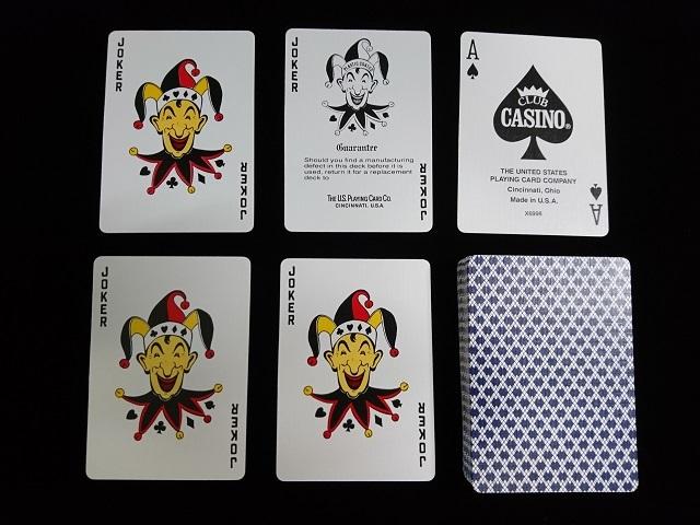 CLUB CASINO Playing Cards (11)
