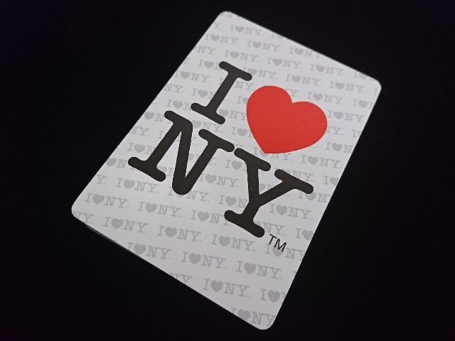 I Love NY Playing Cards (BICYCLE) (3)