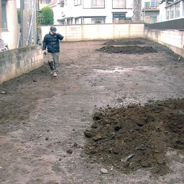 コーポラティブハウス埋蔵文化財試掘9