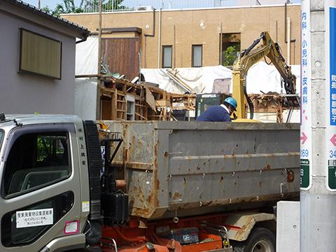 コーポラティブハウスと解体工事5