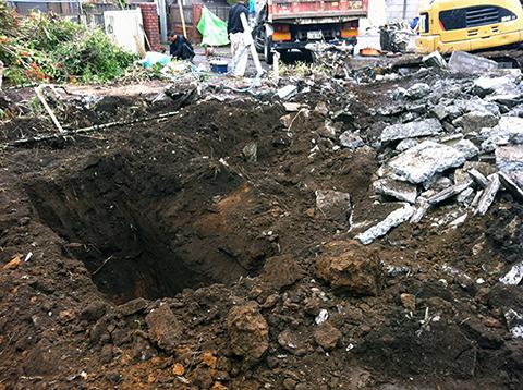 コーポラティブハウスと解体工事4