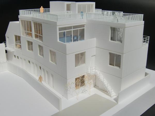 コーポラティブハウス模型GB-3
