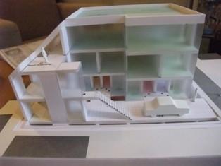 コーポラティブハウス没プロジェクト模型2
