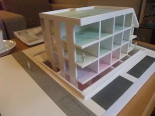 コーポラティブハウス没プロジェクト模型3