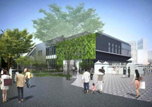 原宿駅舎建替え