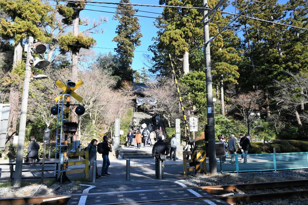 円覚寺 参道前 2
