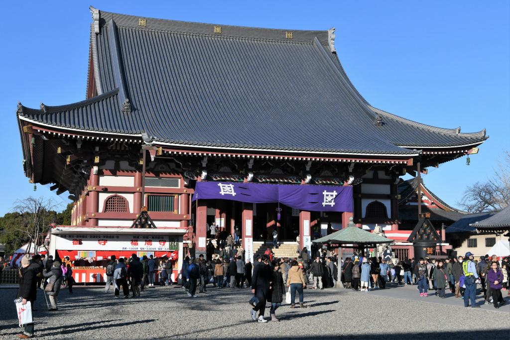 本門寺 大堂