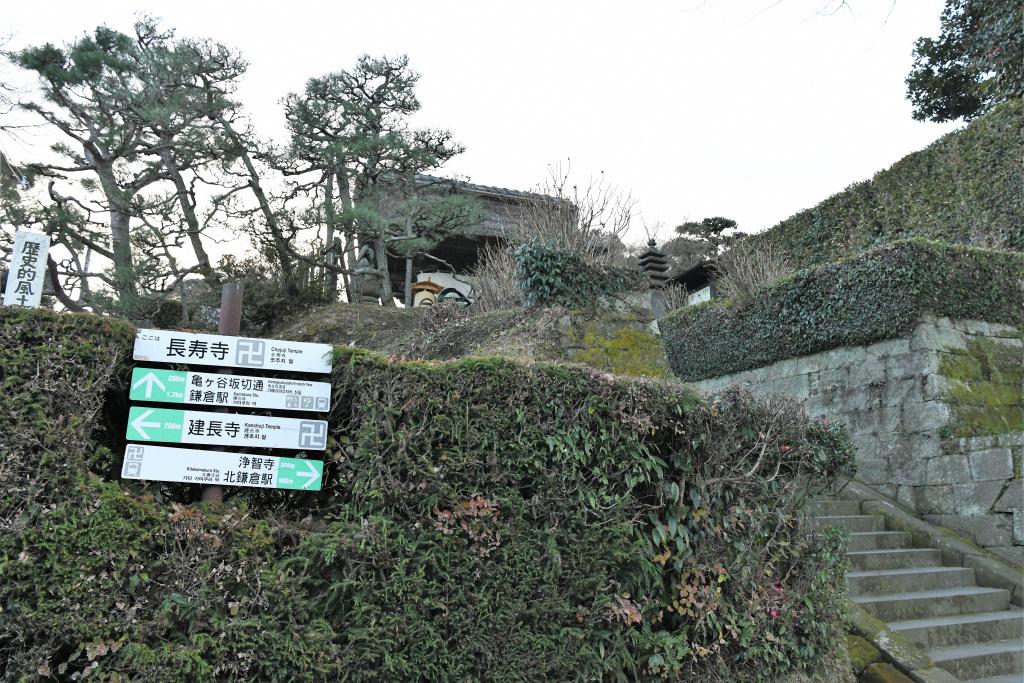 長寿寺 山門前