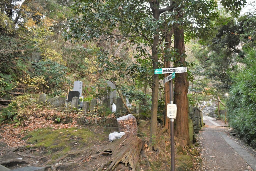 寿福寺 墓地
