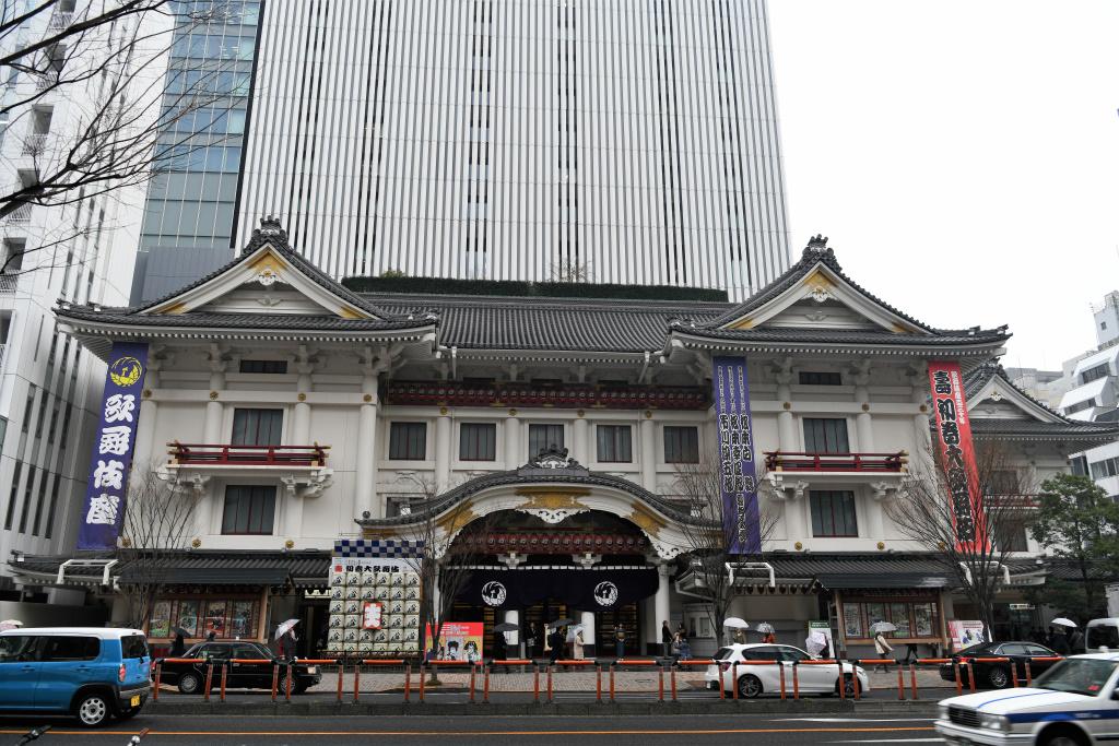 歌舞伎座 前景
