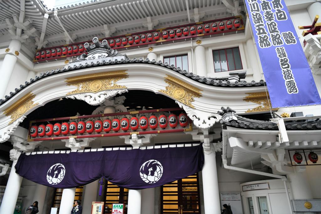 歌舞伎座 正面玄関