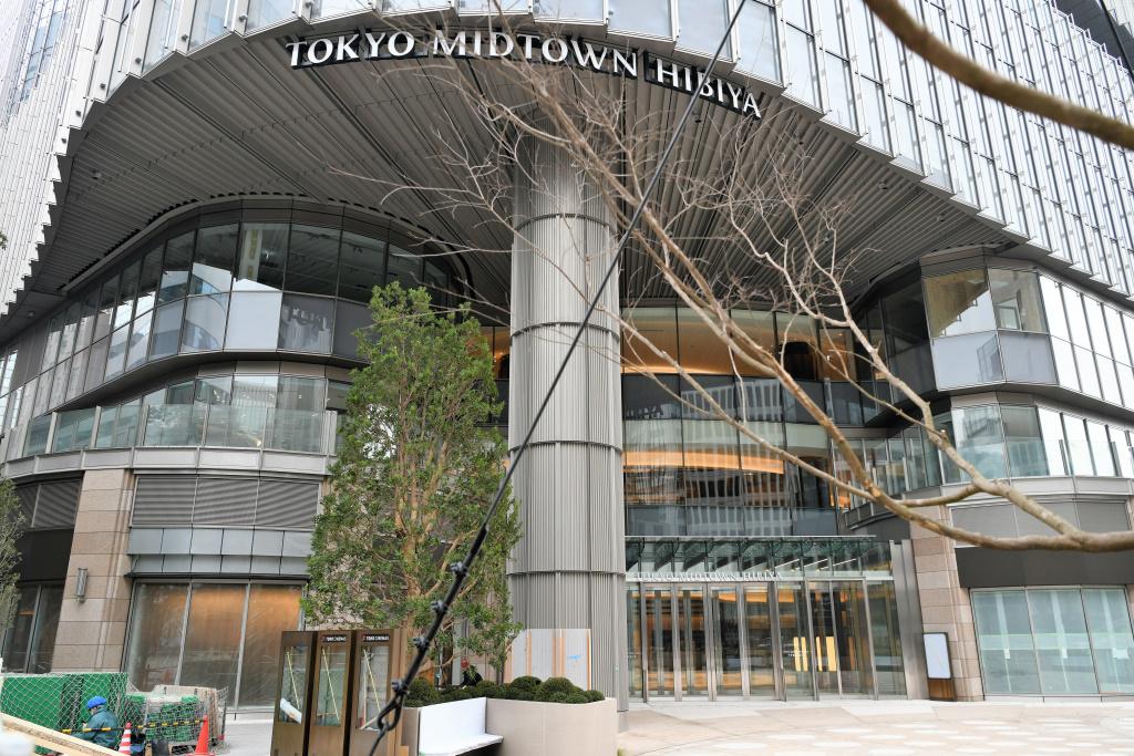 東京ミッドタウン 正面玄関