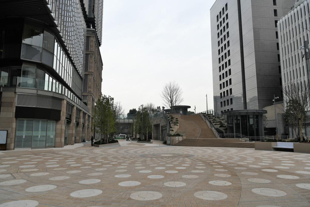 東京ミッドタウン前広場