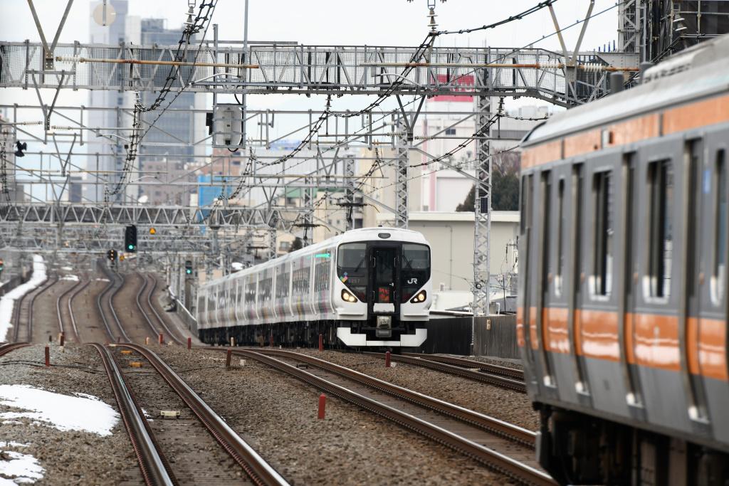 E257系 かいじ102号