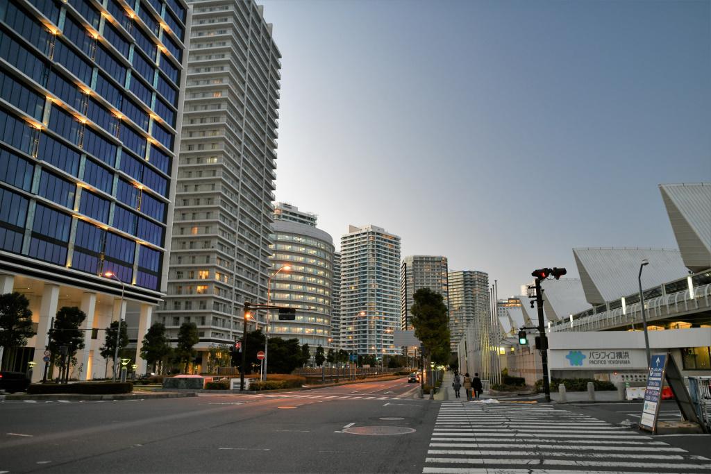 パシフィコ横浜前交差点