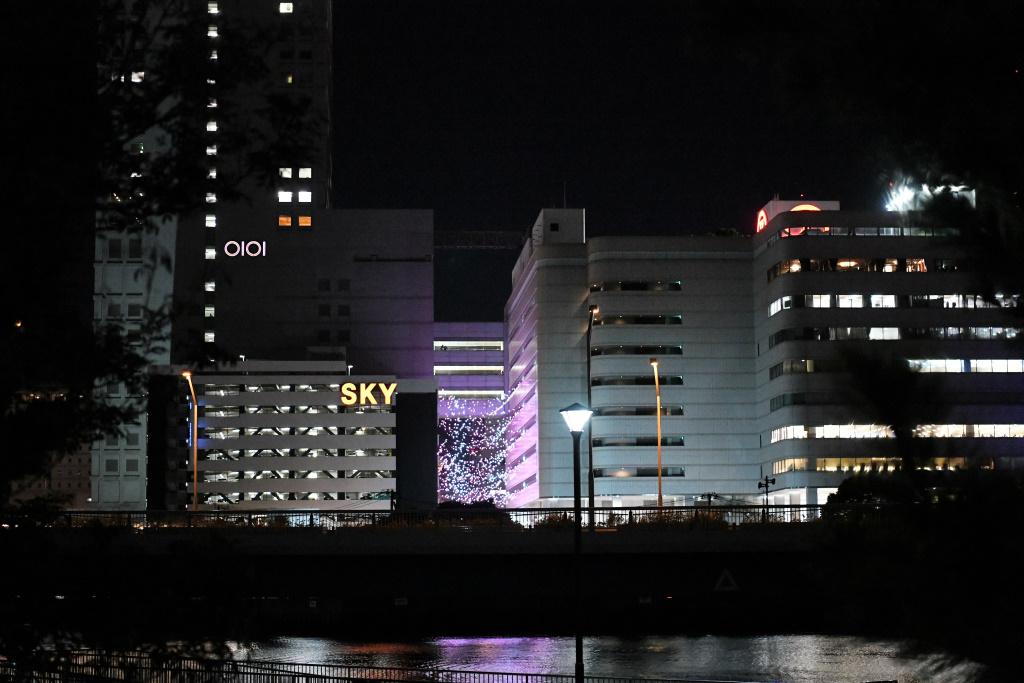 横浜駅周りのビル群