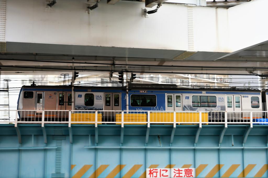 上り 相鉄11000系 今昔電車 2