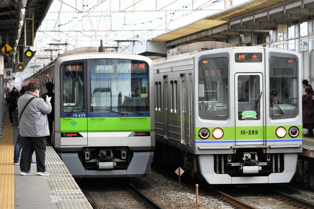 都営地下鉄新宿線 10-300形 & 10-000形