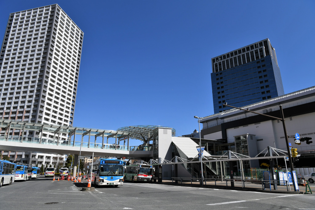 JR川崎駅 西口北 バスロータリー