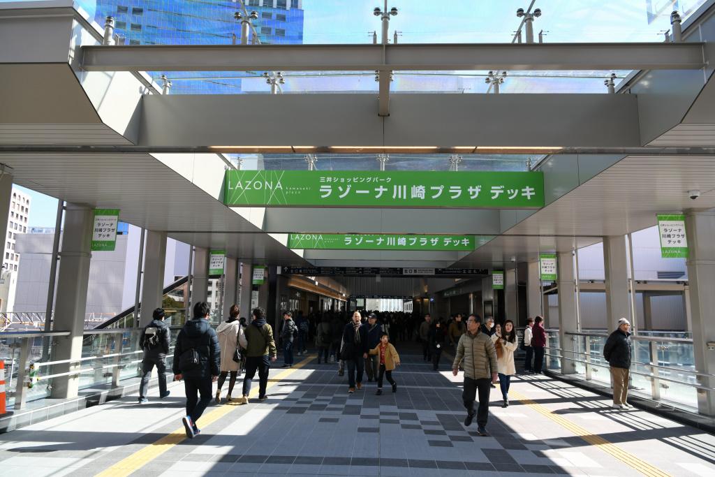 JR川崎駅 北口通路