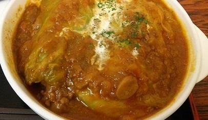 ロールキャベツ定食 (1)