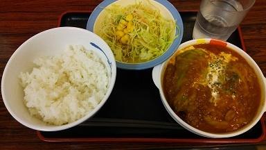 ロールキャベツ定食 (2)