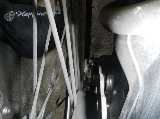 KLX250フロントブレーキパッド