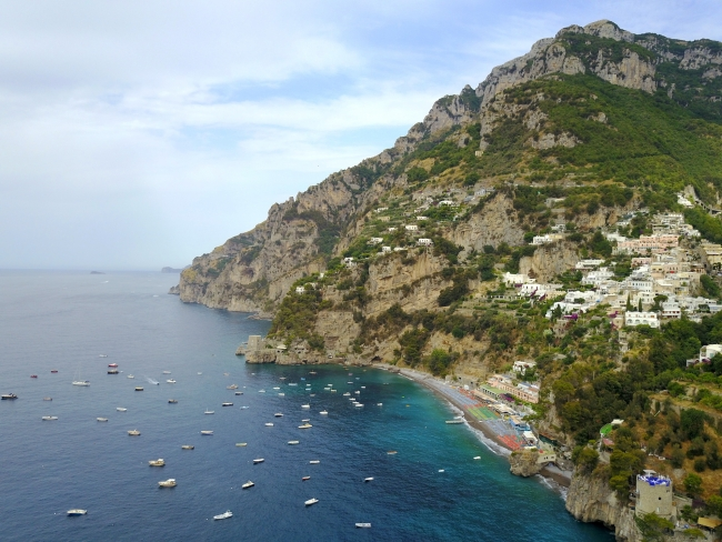 Positano from Drone 2