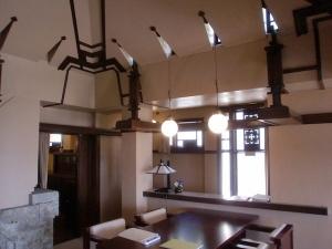 ヨドコウ迎賓館 内観(4F食堂)