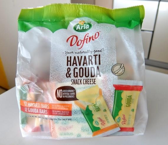 コストコ ◆ ドフィーノ ハバティ&ゴーダ スナックチーズ Dofino H&G Portion 1,448円也 ◆