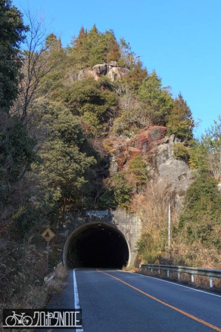 猿岩トンネル