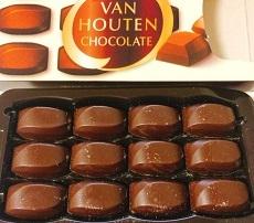 バンホーテンチョコレート グリコ