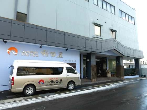 ホテル秋田屋・外観