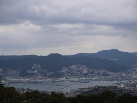眼下に長崎市街