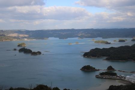 大山公園からの眺望