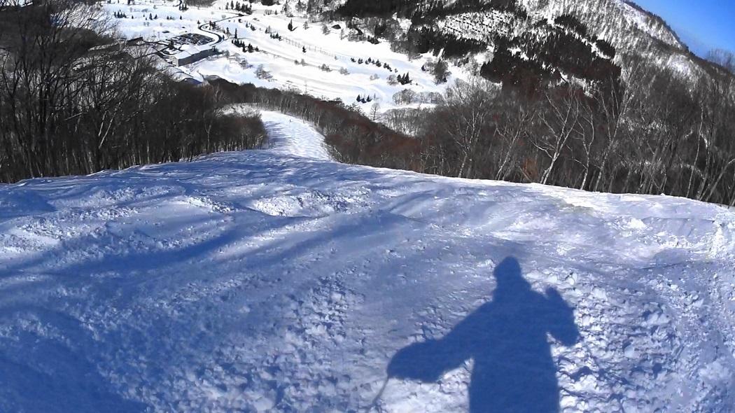 北信州でスキー
