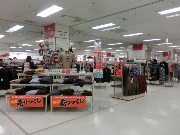 2階衣料品売場
