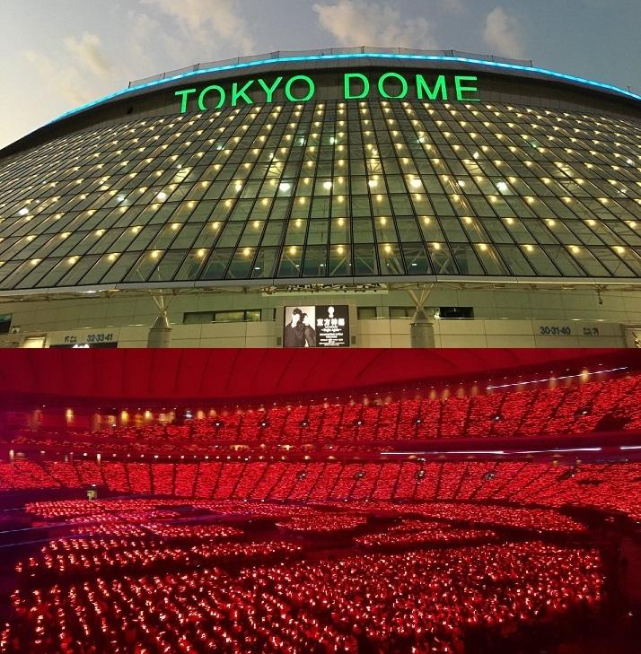 ビギさんがユノとチャンミンを東京ドームごと愛で包みます。
