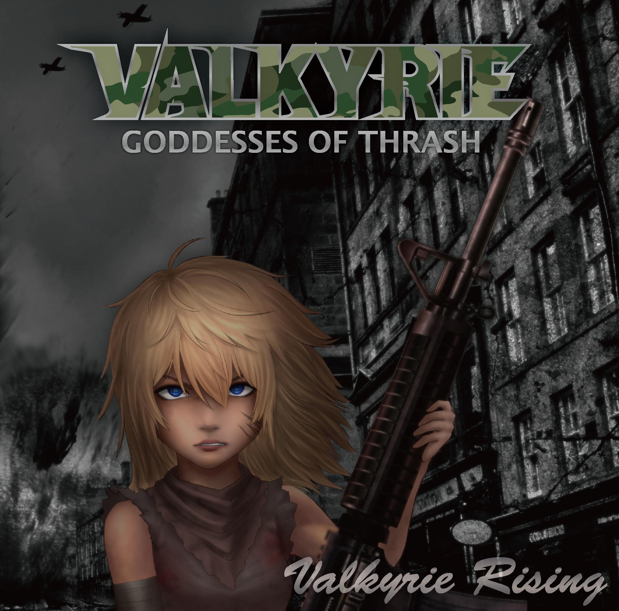 Valkyrie Rising(ヴァルキューレ・ライジング)CD発売中