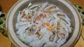 白菜の土鍋蒸し 20171230