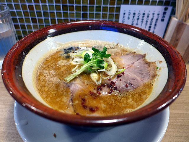釜くら製麺@特製海老味噌そば 1