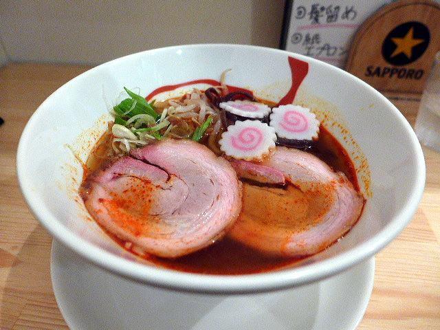 麺ダイニング NARUTO@01辛味ナルトラーメン 1